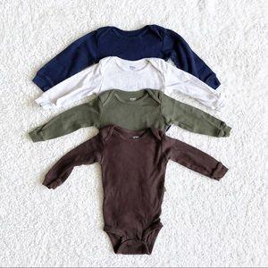Five piece Carter's Bodysuit Bundle
